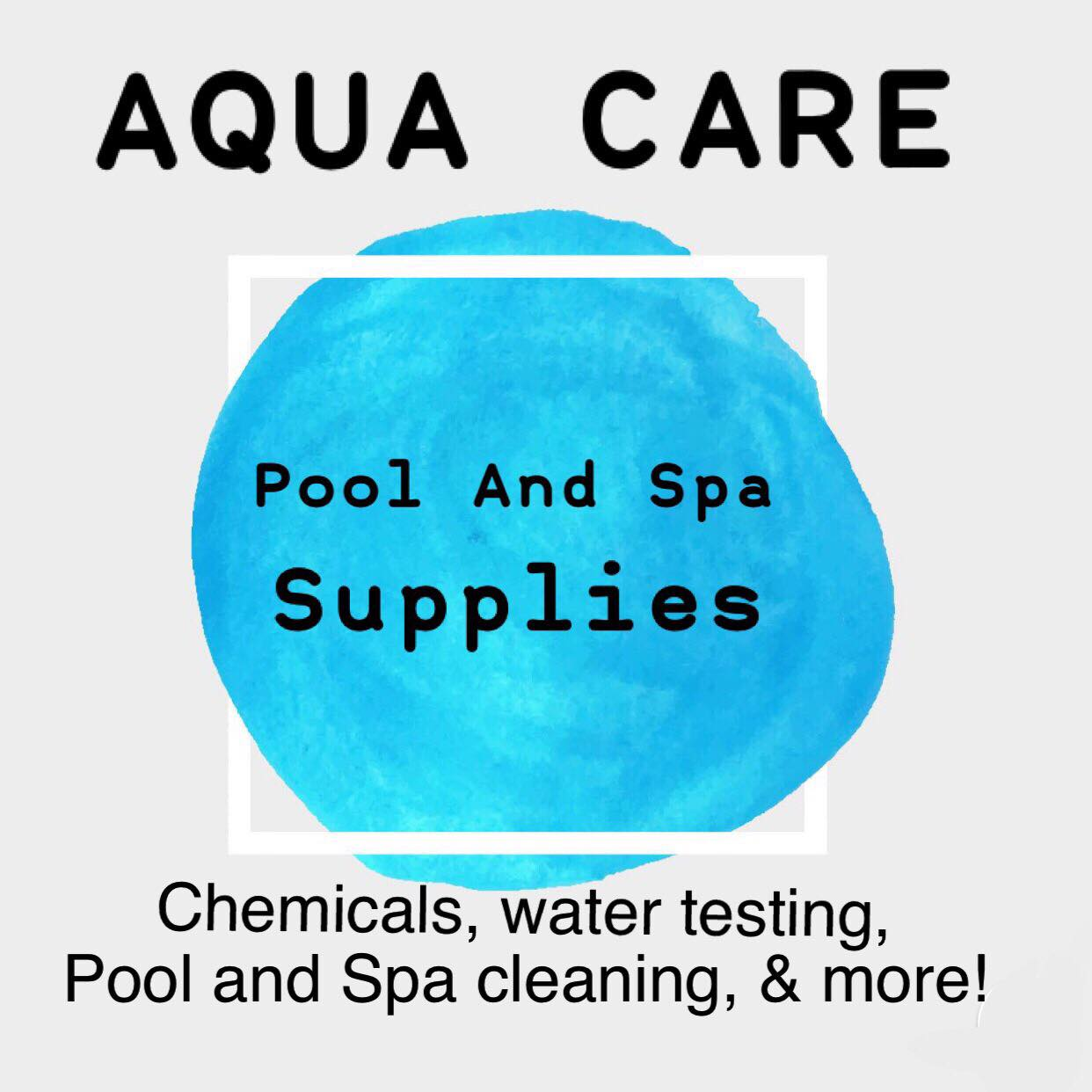 Aqua Care Pool and Spa Supplies Grand Opening Set